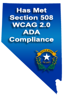 Has met Section 508 WCAG 2.0 ADA Standards